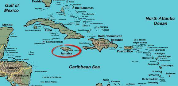 Island of Jamaica